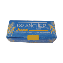 Brancher Jazz Bb Clarinet Reed, Strength 1.5 x6
