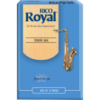 Rico Royal Tenor Saxophone Reed, Strength 2.5, Box of 10