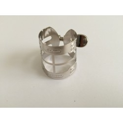Ligature rhodium bb clarinette medium