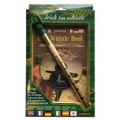 Waltons Irish Flute Pack in D with Introduction Book & CD