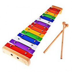Kid's 15-Note Xylophones, Colour Coded