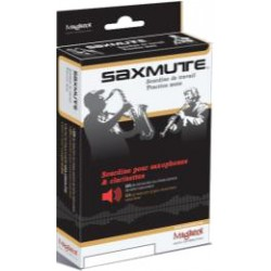 Saxmute Soprano Saxophone Mute (Removable Neck)