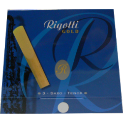 Rigotti Gold Tenor Saxophone Reed, Strength 3, Box of 3