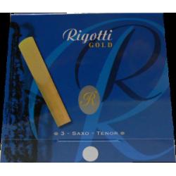 Rigotti Gold Tenor Saxophone Reed, Strength 2, Box of 3