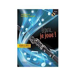 "Billaudot Clarinet Learning Book ""Écoute, je joue !"" - J.M. Fessard, Volume 3 (French)"