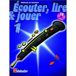 "Oboe Learning Book ""Écouter, Lire et Jouer"" - De Haske, Volume 1 + CD (French)"