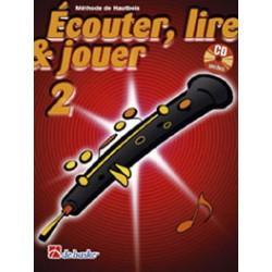 "Oboe Learning Book ""Écouter, Lire et Jouer"" - De Haske, Volume 2 + CD (French)"