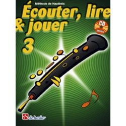 Méthode Hautbois De Haske Ecouter, lire et jouer Vol.3 + CD