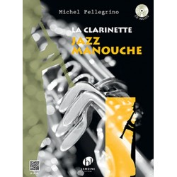 """La Clarinette Jazz Manouche"" - M. Pellegrino + CD"