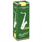 Vandoren Java Green Tenor Saxophone Reed, Strength 4, Box of 5