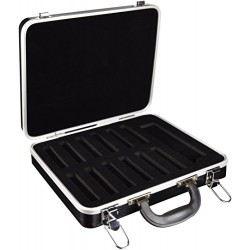 Hohner Diatonic Harmonica Hard Case, Holds 12