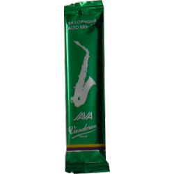 Vandoren Java Green Alto Saxophone Reed, Strength 3.5