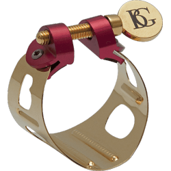 BG Duo Lacquered Ligature for Alto Saxophone and Bb Clarinet