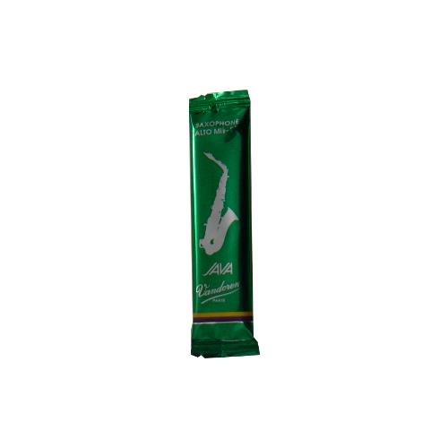 Vandoren Java Green Alto Saxophone Reed, Strength 1
