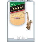 Rico La Voz Tenor Saxophone Reed (Medium/Hard), Box of 10