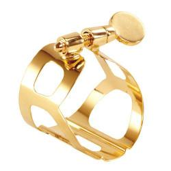 Brancher Gold Baritone Saxophone Ligature for Ebonite Mouthpiece