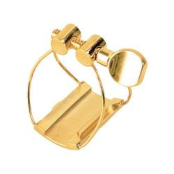 Brancher Gold Baritone Saxophone Ligature for Metal Mouthpiece
