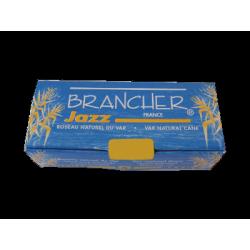 Brancher Jazz Alto Saxophone Reed, Strength 1.5 x6