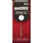 Rico Plasticover Soprano Saxophone Reed, Strength 4, Box of 5