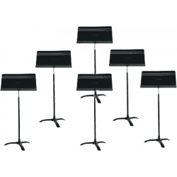 Manhasset 8106 Harmony Music Stands x6