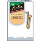 Rico La Voz Baritone Saxophone Reed (Medium/Soft), Box of 10