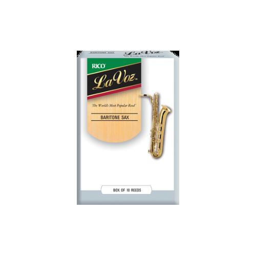 Rico La Voz Baritone Saxophone Reed (Medium)en, Box of 10