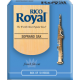 Rico Royal Soprano Saxophone Reed, Strength 2.5, Box of 10