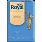 Rico Royal Baritone Saxophone Reed, Strength 2.5, Box of 10