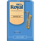 Rico Royal Baritone Saxophone Reed, Strength 2, Box of 10