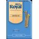 Rico Royal Baritone Saxophone Reed, Strength 1.5, Box of 10