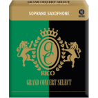 Rico Grand Concert Select Soprano Saxophone Reed, Strength 3, Box of 10
