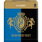 Rico Grand Concert Select Eb Clarinet Reed, Strength 4.5, Box of 10