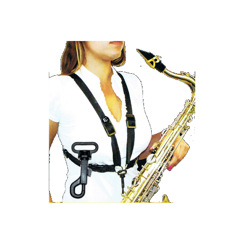 Alto/Tenor Saxophone Strap with Plastic Snap for Women