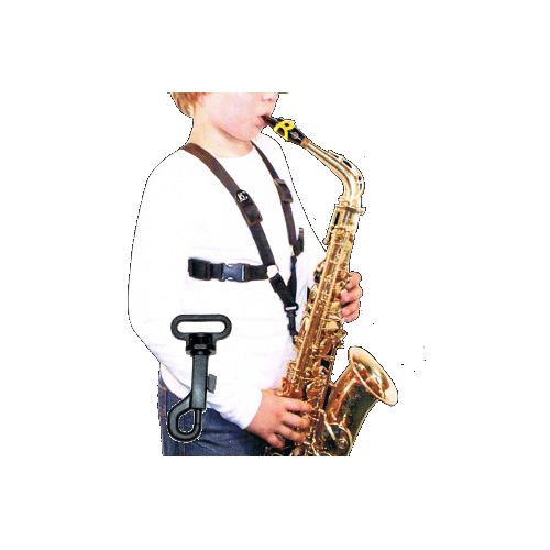 Alto/Tenor Saxophone Strap with Plastic Snap for Kids