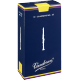 Vandoren Traditional Eb Clarinet Reed, Strength 1, Box of 10