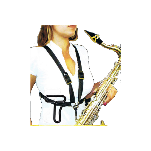 Alto/Tenor Saxophone Strap with Metal Hook for Women