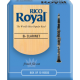 Rico Royal Bb Clarinet Reed, Strength 2.5, Box of 10