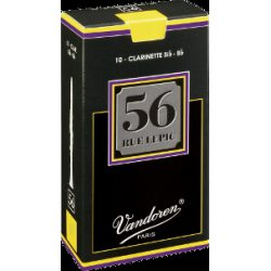 Vandoren 56 Rue Lepic Bb Clarinet Reed, Strength 3.5, Box of 10