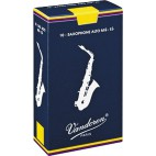 Vandoren Traditional Eb Alto Saxophone Reed, Strength 1.5, Box of 10