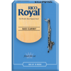 Rico Royal Bass Clarinet Reed, Strength 4, Box of 10