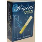 Rigotti Gold Classic Bass Clarinet Reed, Strength 3, Box of 10
