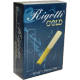 Rigotti Gold Classic Bass Clarinet Reed, Strength 2.5, Box of 10