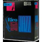 D'Addario Select Jazz Alto Saxophone Reed, Strength 3, Filed (Medium), Box of 10