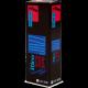 D'Addario Select Jazz Baritone Saxophone Reed, Strength 4, Filed (Medium), Box of 5