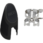 Rico Silver Plated Bb Clarinet 4-Point H-Ligature