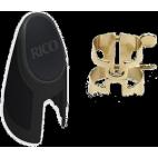 Rico Gold Plated Alto Saxophone 4-Point H-Ligature