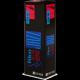 D'Addario Select Jazz Tenor Saxophone Reed, Strength 4, Filed (Hard), Box of 5