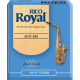 Rico Royal Alto Saxophone Reed, Strength 2.5, Box of 10