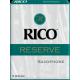 D'Addario Reserve Baritone Saxophone Reed, Strength 2, Box of 5