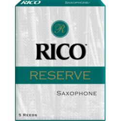D'Addario Reserve Baritone Saxophone Reed, Strength 3.5, Box of 5
